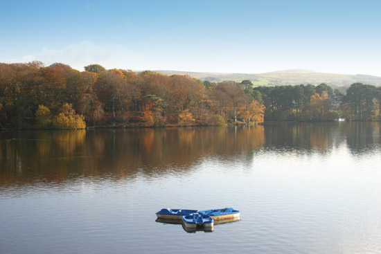 Talkin Tarn near Brampton in Cumbria